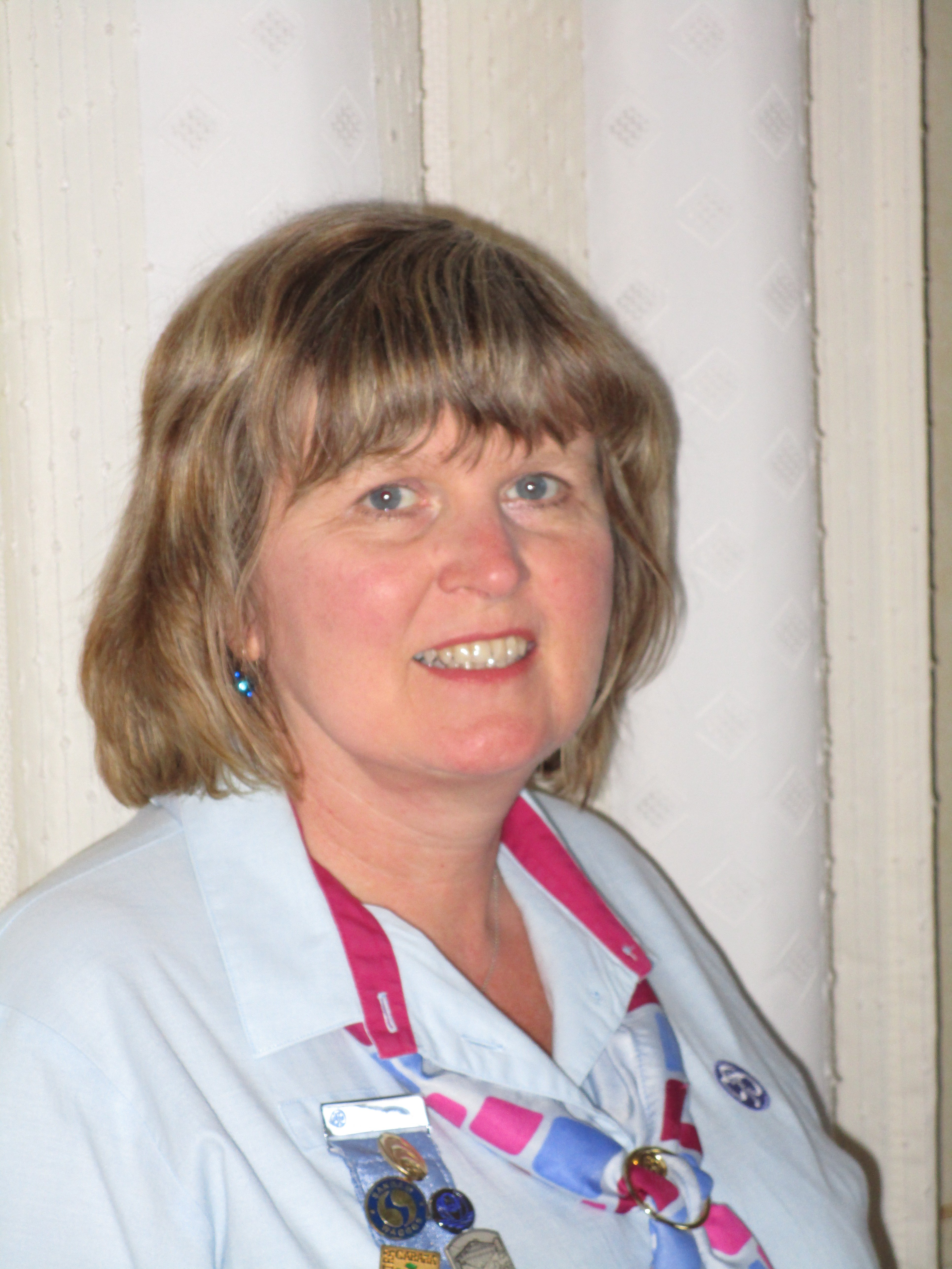 Picture of Ann Crome, County Commissioner for Girlguiding Bedfordshire