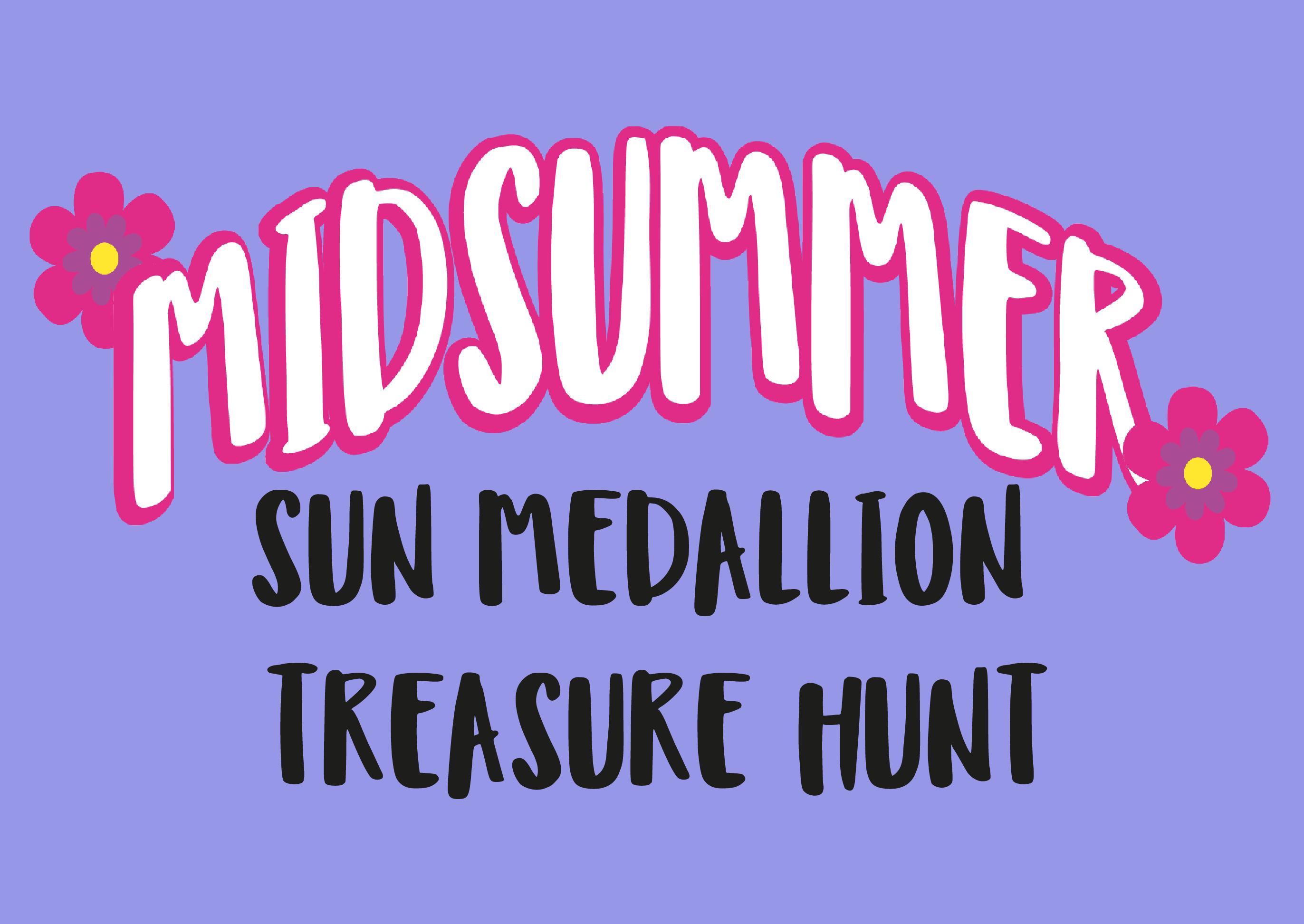 image relating to Sun Medallion Treasure Hunt