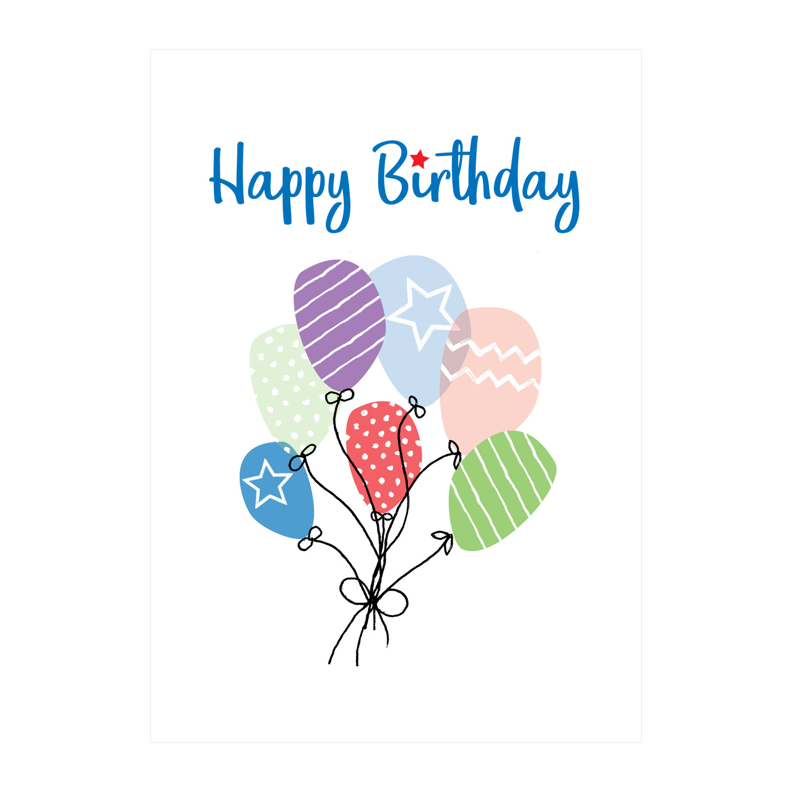 GUIDES BIRTHDAY CARDS 30pk