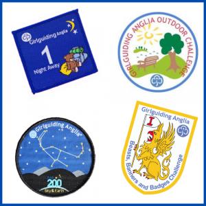 Girlguiding Anglia Badges